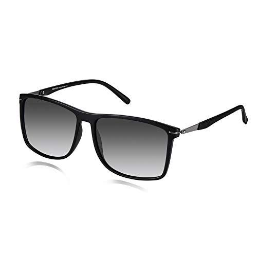 PORPEE Polarized Sunglasses for Men, UV400 Protection Lightweight Sunglasses