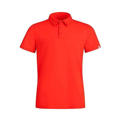 Mammut Herren Polo-shirt Trovat Tour, rot, XL