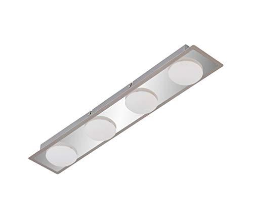 Briloner 2091-048 LED Deckenleuchte Surfline Bad Deckenlampe Deckenstrahler Lampe Leuchte
