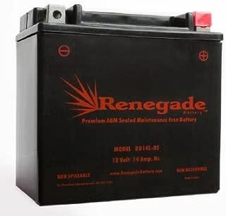 Motorcycle Battery; RG14L-BS; Harley 2006 Sportster 883L; Part# 65958-04A, BTX14L-BS, UTX14L, UTX14L-BS, YTX14L-BS