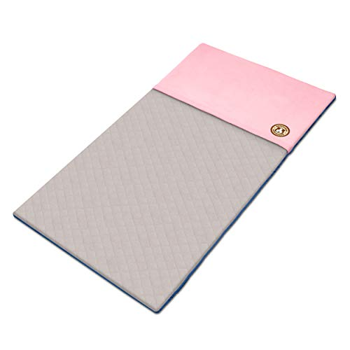 GuineaDad Liner - Midwest Size, Pink | Guinea Pig Fleece Cage Liners | Guinea Pig Bedding | Burrowing Pocket Sleeve | Extra Absorbent Bamboo | Waterproof Bottom