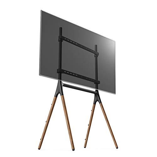 WJJ Soporte TV Pared Soporte TV Planta móvil Mueble de TV, TV Etapa Estante de la Publicidad de la Pantalla Conferencia Carrito 49-70 Pulgadas Universal