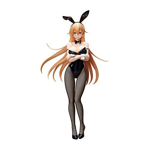 Achnr 46cm Freeing Food Wars Shokugeki Nein Soma Sexy Figur Erina Nakiri Bunny Girl Model Statue