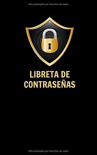 Libreta de Contraseñas: Registra y guarda tus contraseñas - Formato 5x8