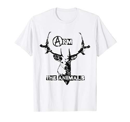 Arm The Animals T-Shirt - Mens & Womens Sizes