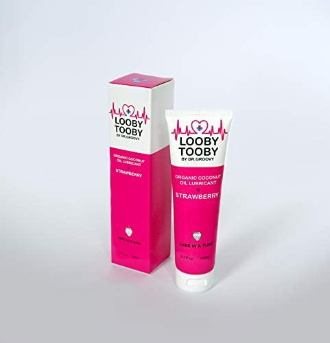 Looby Tooby Coconut Oil Personal Lubricant for Women and Men Smooth Glide Non Greasy Intimate product image