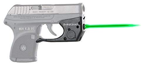 Why Choose ArmaLaser Designed to fit Ruger LCP TR2G Super-Bright Green Laser Sight with Grip Activat...