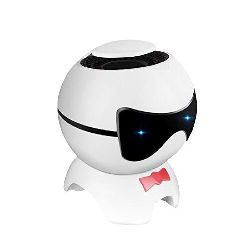 XXCLZ Mini-luchtreiniger voor de auto, animatie, negatieve ionen-generator, formaldehyde, geschikt voor thuis, op kantoor, binnen en buiten van de auto