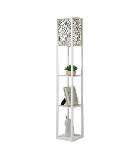 Blanc chinois salon lampadaire chambre lampes de chevet lampe de salon lampes de sol