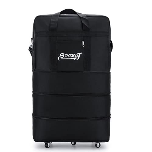 MINGPAI Equipaje Trolley de viaje de 32 pulgadas bolsa de lona para...
