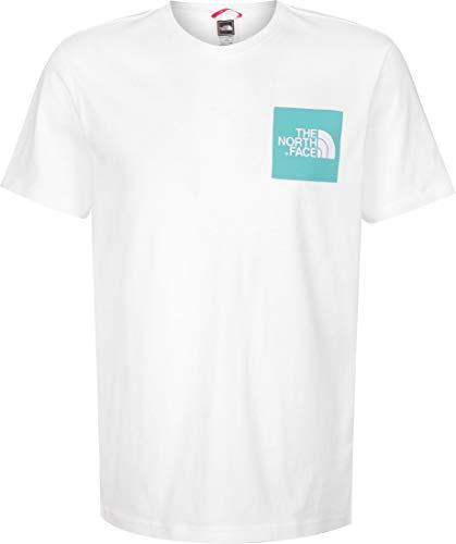 The North Face Camiseta Fine tee Blanco Aguamarina