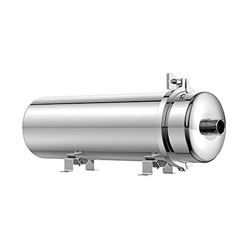 HPRM Purificador de Agua de Acero Inoxidable, Elemento de Filtro de no reemplazo, con diseño de obstrucción Resistente, Limpieza Manual para Cocina doméstica