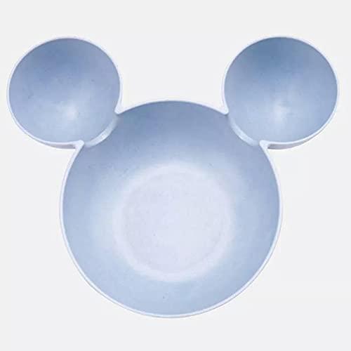 Kalami Plastic baby feeding bowl baby children cartoon mouse lunch box Mickey bowl harness child baby meal plate harness child child