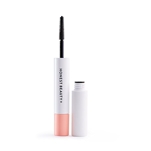 Honest Beauty Extreme Length Mascara + Lash Primer, 2-in-1 Boosts Lash Length, Volume & Definition, Silicone Free, Paraben Free, Dermatologist & Ophthalmolo...