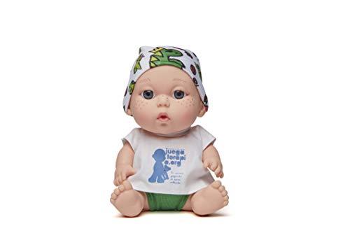 Juegaterapia Muñeco Baby Pelón, Diseñado por Sara Carbonero, Juguete Solidario con Olor a Vainilla, 20 x 10 x 20 cm