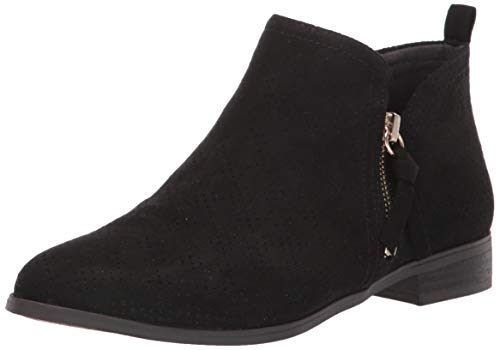 Dr. Scholl's Shoes Women's Rate Zip Ankle Boot, Black, 9.5