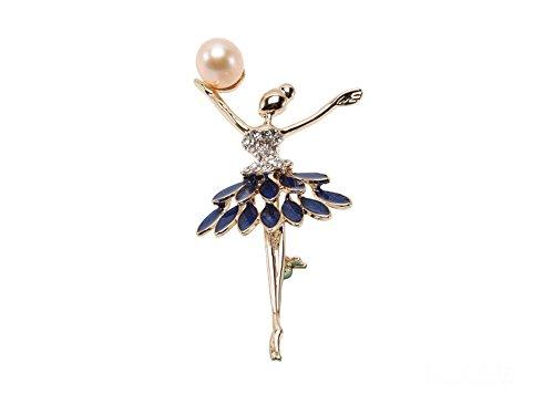 jyx 10x 13mm Rosa Süßwasser-Perle Brosche Pin Corsage Hochzeit Bouquet Weihnachten Geschenk