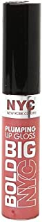 New York Color Big Bold Plumping Lip Gloss, #467 Pleasantly Plump Pink - 0.39 Oz, Pack of 3