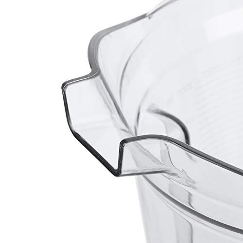 Gaeirt Recipiente para licuadora de Alimentos, 64 oz Serie G 5300 Taza licuadora cómoda y Antideslizante para Postre congelado para triturar Hielo Cocina