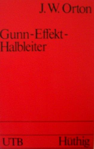 Gunn - Effekt - Halbleiter.