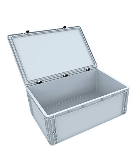 AUER Packaging GmbH DSEB215 Eurobehälter/Euro Box mit Scharnierdeckel ED 64/22 HG