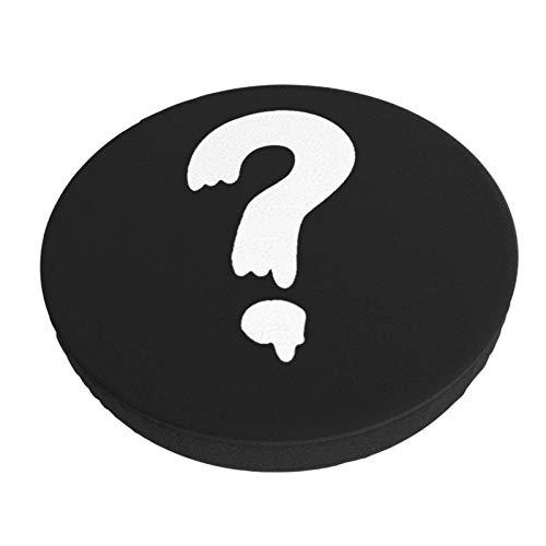 Gym Question Funda de cojín para Silla de Barra Redonda Lavable extraíble Funda de cojín de Taburete elástico 12 Pulgadas