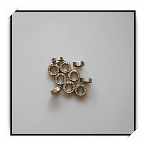 liuchenmaoyi Rodamientos de la Carretilla 2pcs 5X8X2.5 Rodamiento de Bolas de cerámica de cerámica híbrida de Acero Inoxidable MM rodamientos de Patinaje