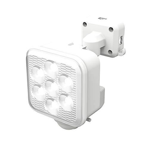 ムサシ RITEX フリーアーム式LED高機能センサーライト(5W×1灯) 「ソーラー式」 S-110L ホワイト