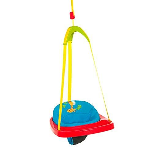 Hauck Jump Altalena da Porta, per Bimbi da 6 Mesi, Regolabile in Altezza, a Pressione, senza Fori, Jungle Fun (Multicolore)