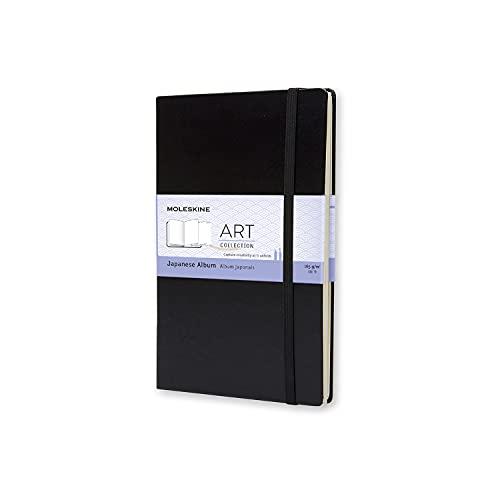Moleskine - Art Collection, Cuaderno Japonés, Cuaderno de Dibujo Tapa Dura y...