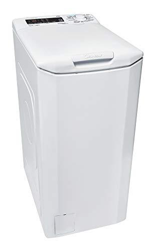 Candy GrandÓ Vita Toplader-Waschmaschine CVS GTG374DM/1-84, Füllmenge 7 kg, EEK A+++, 17 Programme, Schleuderleistung 1400 U/min, NFC Technologie