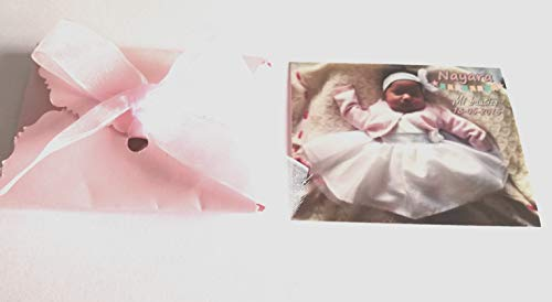 Imanes personalizados con foto para bautizo 25 unidades 6x7 cm