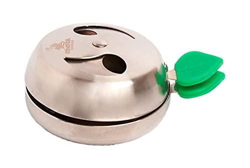 Ethereal Hookah - Gestor de calor para Shisha o Cachimba - Accesorio Premium para la Hookah - Compatible con cazoletas Tradicionales y Phunnel - Mayor rendimiento y duración del carbón - Aluminio