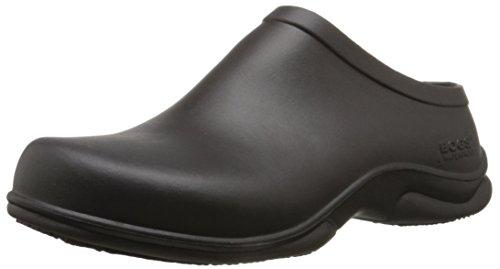 Bogs Men's Stewart Health Care Food Services Shoe Slip On Rain Boot, Black, 14 M