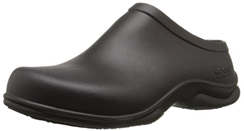 Bogs Men's Stewart Health Care Food Services Shoe Slip On Rain Boot, Black, 10 M