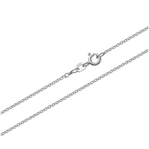 NKlaus Ankerkette Silber Kette 3647, 50 cm lang, 3 Gramm 1,5mm Breit