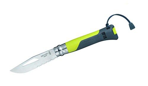 Opinel Outdoortaschenmesser grün Messer, No. 8