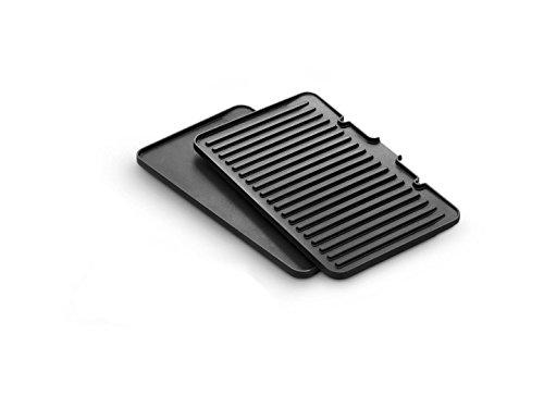 Grillplatten Kit 5517910001,DLSK150 kompatibel mit / Ersatzteil für De'Longhi CGH1020D MultiGrill Kontaktgrill
