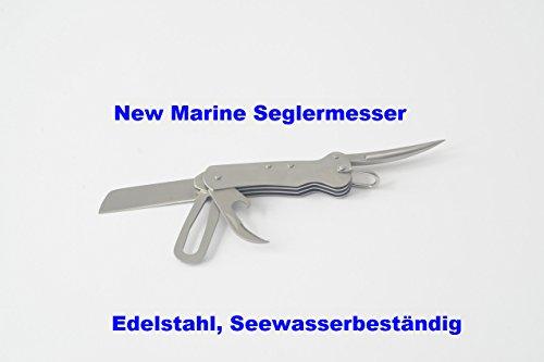 Seglermesser mit Klinge/Marlspiker/Schäkelöffner
