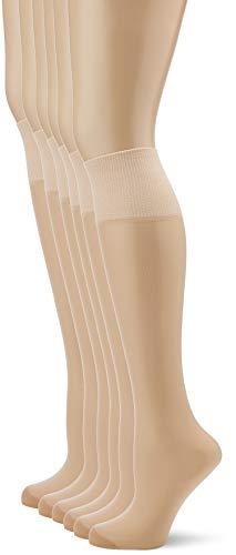 Dim Beauty Resist Calcetines, 20 DEN, Beige (Capri 2m4), Talla única (Talla del fabricante: 35/41) (Pack de 6) para Mujer