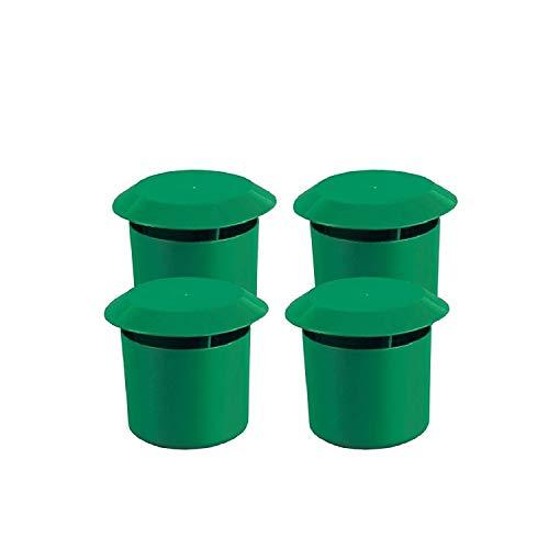 Gardigo Schnecken-Falle 4er Set I Bio Schneckenschutz für den Garten I Umweltfreundliche Schneckenbekämpfung I Deutscher Hersteller