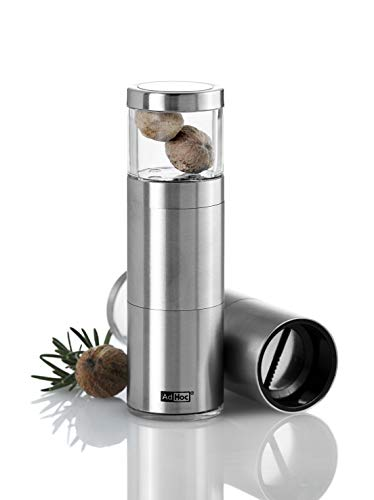 "AdHoc Slim Profile Nutmeg Mill, 5"", Stainless Steel"