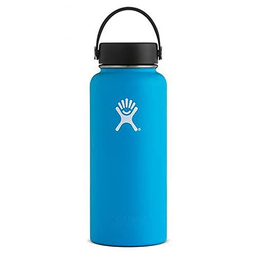 PURPLELU Space Pot Gradient Color Vacuum Flask Space Cup Portable Outdoor Sports Water Bottle Suitable for Outdoor/Climbing/Sports,blue,40oz portable cap