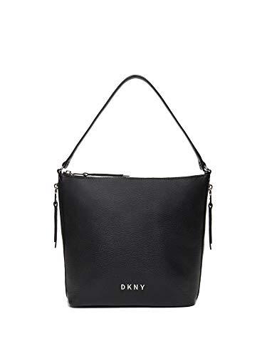 DKNY R94CAF94 BSV Tasche für Damen, Karan New York, Schwarz / Silber
