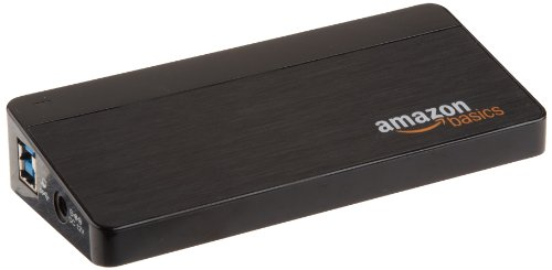 AmazonBasics 7 Port USB 3.0 Hub with 12V/3A Power Adapter