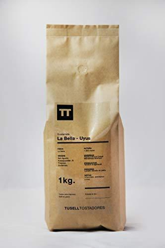 Cafe en grano natural Arabica 100% - Espresso - 1kg - Guatemala - Finca La Bella - Uyus - Tusell Tostadores