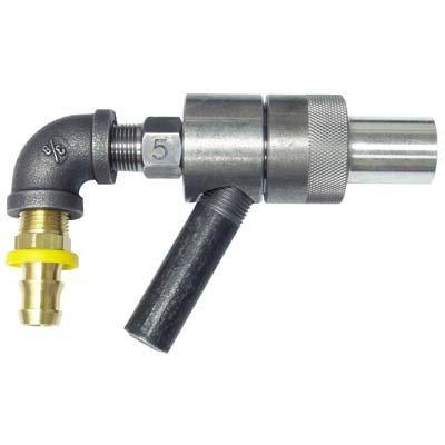 Purchase Sandblasting Gun Assembly, 3/8 Tungsten Carbide Nozzle, 5/32 Air Jet