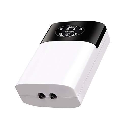 STOBOK 1 Unidad de Bomba de Aire para Acuario Compresor de Acuario USB Tanque de Peces Burbujas de Aire Aireador Silencioso Bomba de Oxígeno Silencioso con Accesorios para Peceras