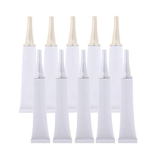 Fenteer 10x Récipient à échantillons Tube vide Contenant de maquillage