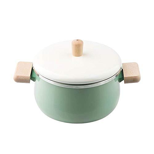ZYING Zore Pan de Porcelana Olla 3.3L Doble Fondo Sopa de Olla...